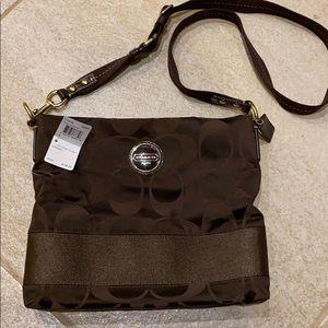 Authentic Coach crossbody handbag